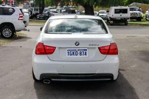 2010 BMW 320D E90 MY10 Lifestyle White 6 Speed Auto Steptronic Sedan