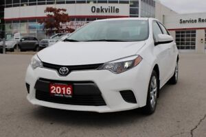 2016 Toyota Corolla LE w/Bluetooth, Heated Seats & Backup Camera