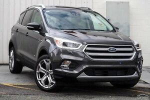 2017 Ford Escape ZG Titanium PwrShift AWD Grey 6 Speed Sports Automatic Dual Clutch Wagon Invermay Launceston Area Preview
