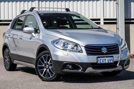2014 Suzuki S-Cross JY GLX (4x4) Silver Continuous Variable Wagon Cannington Canning Area Preview