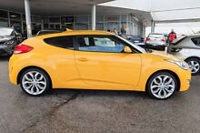 2012 Hyundai Veloster FS2 Coupe D-CT Yellow 6 Speed Sports Automatic Dual Clutch Hatchback Osborne Park Stirling Area Preview