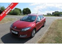 RENAULT MEGANE 1.5DCi.Estate,2013KNIGHT EDITION,Alloys,Air Con,Cruise,Park Sensors,£0 Road Tax,80mpg