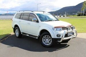 2010 Mitsubishi Challenger PB (KH) MY11 LS White 5 Speed Sports Automatic Wagon Invermay Launceston Area Preview