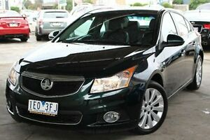 2013 Holden Cruze JH Series II MY13 CDX Green 6 Speed Sports Automatic Sedan Cheltenham Kingston Area Preview