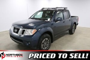 2016 Nissan Frontier 4WD CREWCAB PRO-4X Accident Free,  Navigati