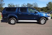 2009 Toyota Hilux KUN26R MY10 SR5 Blue 4 Speed Automatic Utility Mindarie Wanneroo Area Preview