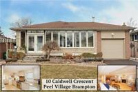Immaculate 4 Bedroom Bungalow On A Premium Deep Lot!