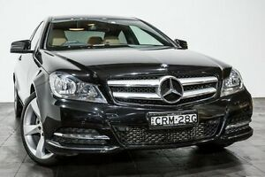 2014 Mercedes-Benz C250 C204 MY14 7G-Tronic + Black 7 Speed Sports Automatic Coupe Rozelle Leichhardt Area Preview