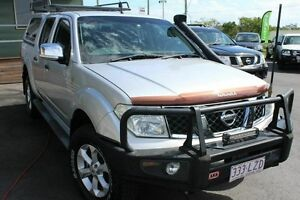 2009 Nissan Navara D40 ST-X Silver 5 Speed Automatic Utility Wakerley Brisbane South East Preview