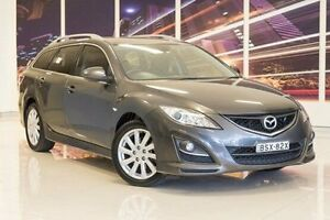 2010 Mazda 6 GH1052 MY10 Classic Grey 5 Speed Sports Automatic Wagon Blacktown Blacktown Area Preview