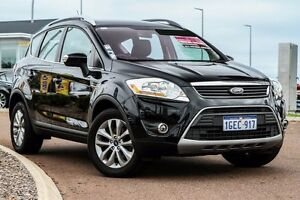 2012 Ford Kuga TE Trend AWD Black 5 Speed Sports Automatic Wagon East Rockingham Rockingham Area Preview