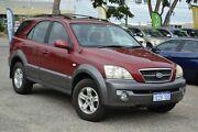 2003 Kia Sorento BL EX Red 4 Speed Automatic Wagon Wangara Wanneroo Area Preview
