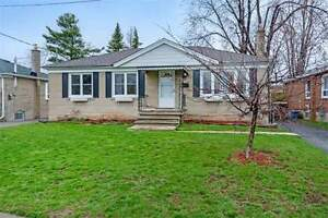 Updated 3+1 Bdrm Bungalow Situated At Halton!