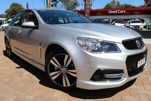 2015 Holden Commodore VF MY15 SV6 Storm Silver 6 Speed Automatic Sedan Campbelltown Campbelltown Area Preview