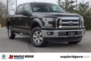 2015 Ford F-150 PERFECT FAMILY TRUCK, LOW KILOMETRES, 4X4