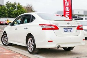 2016 Nissan Pulsar B17 Series 2 SSS White 1 Speed Constant Variable Sedan Victoria Park Victoria Park Area Preview