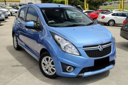 2014 Holden Barina Spark MJ MY15 CD Blue 4 Speed Automatic Hatchback Buderim Maroochydore Area Preview