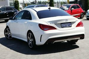 2014 Mercedes-Benz CLA250 C117 Sport DCT 4MATIC White 7 Speed Sports Automatic Dual Clutch Coupe