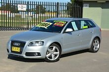 2009 Audi A3 8P MY10 TFSI Sportback S tronic A Silver 7 Speed Sports Automatic Dual Clutch Hatchback New Lambton Newcastle Area Preview