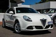 2013 Alfa Romeo Giulietta Series 0 MY13 Progression White 6 Speed Manual Hatchback Victoria Park Victoria Park Area Preview