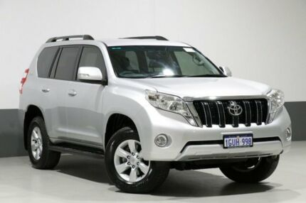 2017 Toyota Landcruiser Prado GDJ150R MY16 GXL (4x4) Silver 6 Speed Automatic Wagon Bentley Canning Area Preview