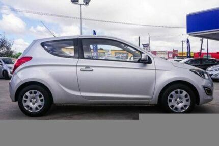 2013 Hyundai i20 PB MY13 Active Sleek Silver 4 Speed Automatic Hatchback Bellevue Swan Area Preview