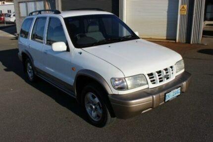 2001 Kia Sportage MY2001 White 5 Speed Manual Wagon Burnie Burnie Area Preview