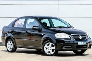 2006 Holden Barina TK MY07 Black 4 Speed Automatic Sedan Pakenham Cardinia Area Preview