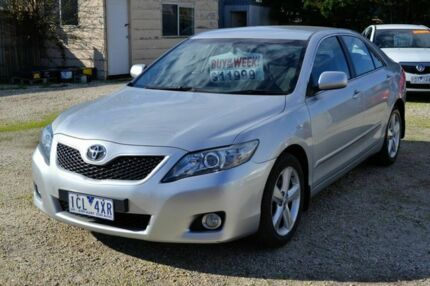 2011 Toyota Camry TOURING WT-i Silver Automatic Sedan