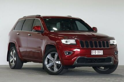 2013 Jeep Grand Cherokee WK MY14 Overland (4x4) Red 8 Speed Automatic Wagon