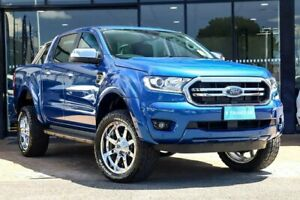 2018 Ford Ranger PX MkIII 2019.00MY XLT Pick-up Double Cab Blue 10 Speed Sports Automatic Utility Parramatta Parramatta Area Preview