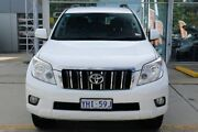 2011 Toyota Landcruiser Prado KDJ150R GXL White 5 Speed Sports Automatic Wagon Belconnen Belconnen Area Preview