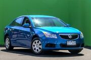 2011 Holden Cruze JH Series II MY12 CD Blue 6 Speed Sports Automatic Sedan Ringwood East Maroondah Area Preview