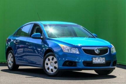 2011 Holden Cruze JH Series II MY12 CD Blue 6 Speed Sports Automatic Sedan Ringwood East Maroondah Area Preview