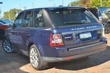 2012 Land Rover Range Rover Sport L320 12MY SDV6 CommandShift Baltic Blue 6 Speed Sports Automatic W Osborne Park Stirling Area Preview