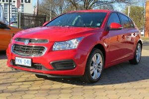 2015 Holden Cruze JH MY15 Equipe Red 6 Speed Automatic Hatchback Greenway Tuggeranong Preview
