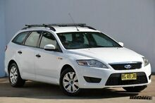 2010 Ford Mondeo MB LX White 6 Speed Sports Automatic Wagon Blacktown Blacktown Area Preview