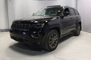 2017 Jeep Grand Cherokee 4WD LIMITED 75TH ANN Leather,  Sunroof,