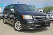 2012 Chrysler Grand Voyager RT 5th Gen MY12 Limited Black 6 Speed Automatic Wagon Victoria Park Victoria Park Area Preview