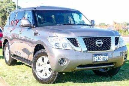 2013 Nissan Patrol Y62 TI Grey 7 Speed Sports Automatic Wagon Wangara Wanneroo Area Preview