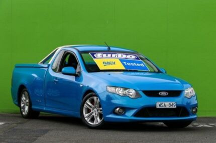 2009 Ford Falcon FG XR6 Ute Super Cab Turbo Blue 6 Speed Sports Automatic Utility Ringwood East Maroondah Area Preview