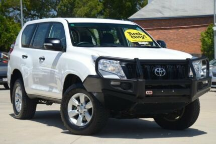 2014 Toyota Landcruiser Prado KDJ150R MY14 GX White 5 Speed Sports Automatic Wagon Toowoomba Toowoomba City Preview