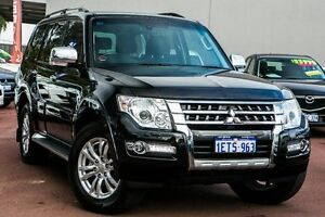 2015 Mitsubishi Pajero NX MY15 GLS Black 5 Speed Sports Automatic Wagon Cannington Canning Area Preview