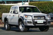 2009 Ford Ranger PK XL Crew Cab Cool White 5 Speed Automatic Utility Acacia Ridge Brisbane South West Preview