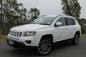 2015 Jeep Compass MK MY15 Limited CVT Auto Stick White 6 Speed Constant Variable Wagon Mount Gravatt Brisbane South East Preview