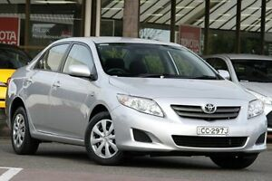 2007 Toyota Corolla ZRE152R Ascent Silver Pearl 4 Speed Automatic Sedan Christies Beach Morphett Vale Area Preview