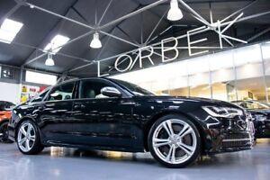 2012 Audi S6 4GL 4.0 TFSI LE Phantom Black 7 Speed Auto Direct Shift Sedan