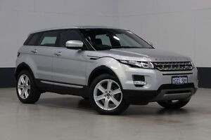2013 Land Rover Evoque LV MY13 TD4 Prestige Silver 6 Speed Automatic Wagon Bentley Canning Area Preview