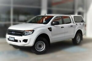 2012 Ford Ranger PX XL Double Cab White 6 Speed Sports Automatic Utility Berwick Casey Area Preview