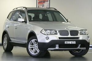 2007 BMW X3 E83 MY07 si Steptronic Silver 6 Speed Sports Automatic Wagon Chatswood Willoughby Area Preview